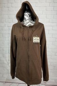 Disney Parks hoodie zip front size large pockets